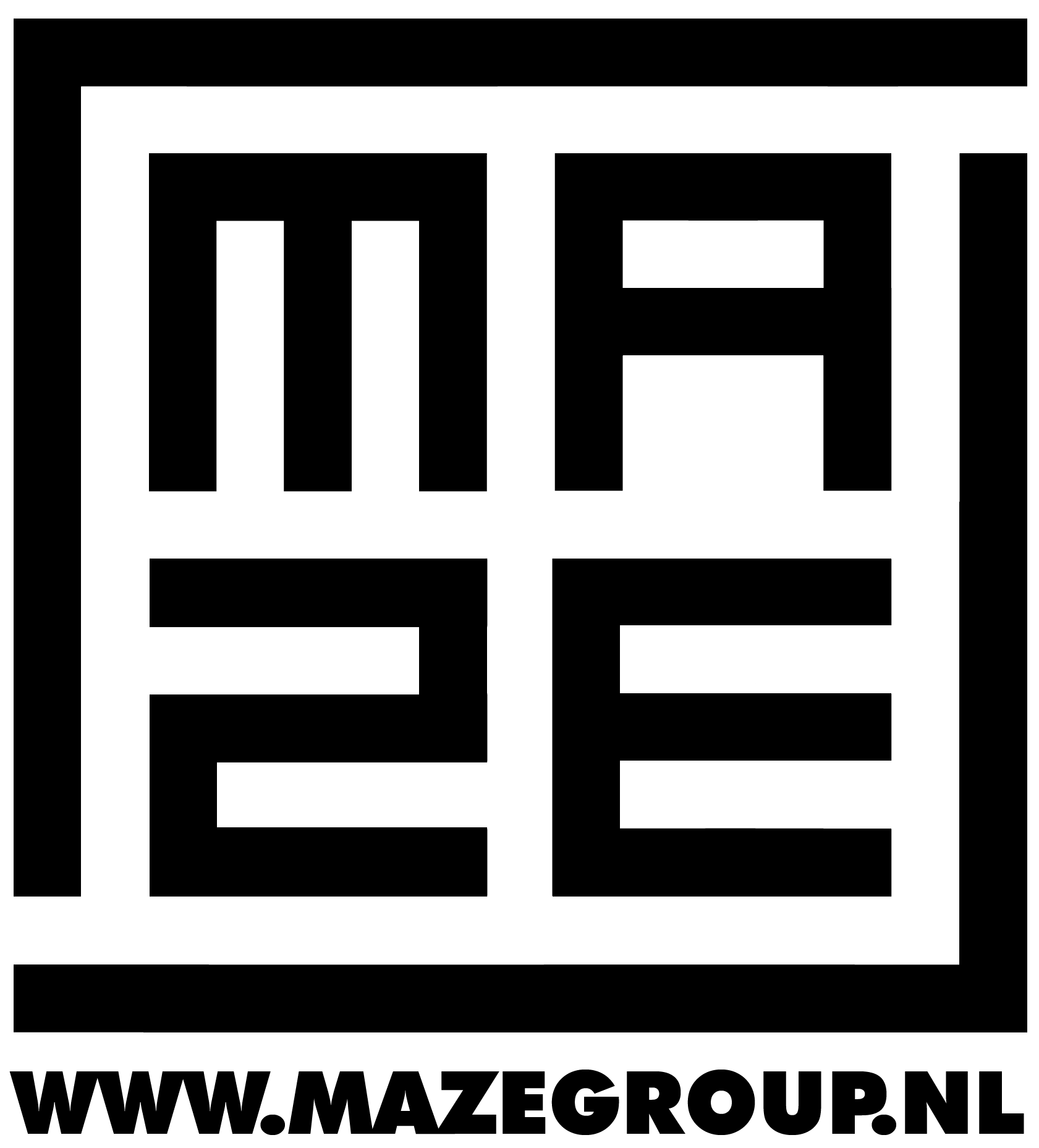maze vierkant logo www